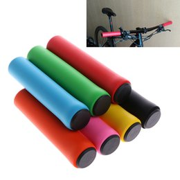 Wholesale Bicycle Handlebar Grips Light - Bike Grips Ultra Light Silicone Material Handlebar Grips High Density MTB Bicycle Handlebar Anti-slip Cycling Grips Bicycle Parts