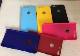 Wholesale Oppo Cases - Matte Rubberized Hard Plastic Oil PC Case For Xiaomi 5S Plus Oppo R9S Plus Google Pixel XL Frosted Matt Rubber Cellphone Cover Skin 300pcs