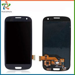 Wholesale I535 Lcd Replacement - Free DHL Shipping Screen Touch Replacement For Samsung Galaxy S3 SIII i9300 i9305 i747 T999 i535 R530 L710 AAA LCD Digitizer without Frame