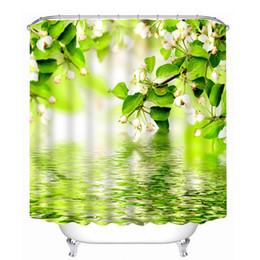 Wholesale Modern Print Curtains - Wholesale- 3D Printing Waterproof Personality Fabric Bathroom Shower Curtain U61010