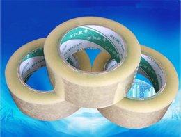 Wholesale Carton Sealing Packing Tape - 4pcs 4.5cm seal tape shipping packing tape paper carton wrapping tape