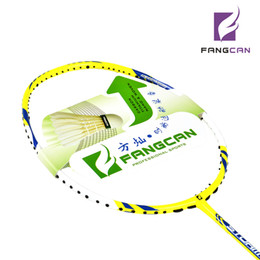 Wholesale Hot sell light racquets FANGCAN ST CC6 badminton rackets with strings