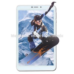 Wholesale 5mp tablets - Wholesale- 2017 New 4G LTE tablet PC 8 INCH ips Android 5.1 phone call 4GB 32GB Leather Case Octa Core 2MP+5MP 1280X800 IPS GPS FM Wifi