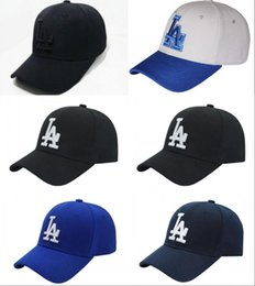 Wholesale Cap Long Visor - 2017 NEW Snapback Cap black Long brim NY Baseball Bone visor cap Fashion LA Hats for men women gorras Casquette LA baseball caps