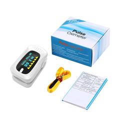 Wholesale Digital Finger Oximeter - Digital Finger Pulse Oximeter Blood Oxygen a Finger SPO2 PR Oximetro de dedo Portable Oximeter Health Care Medical Equipment ZA2675