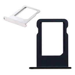 vassoi di carta di sim iphone 4s Sconti Vassoio della carta SIM di alta qualità per parti di riparazione del supporto della fessura per schede di iPhone 4 4s 5 5G 5s DHL libero