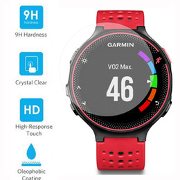Wholesale Forerunner Garmin - Wholesale-Premium 9H Tempered Glass Screen Protector Skin Film Guard for for Garmin Forerunner 235