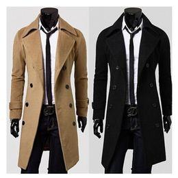 Canada En gros-Hommes Veste D'hiver Manteau Manteau Homme De Haute Qualité De Mode Nouvelle Marque Hommes D'hiver Tranchée Manteaux Longs Manteaux Vercoats supplier duffle coats Offre