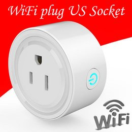 Wholesale Wireless Outlet Plug - Smart Plug, Agele Wireless Outlet WiFi Plug US Socket,Works with Alexa,Switch On Off your electric equipment from Anywhere, Timing Function