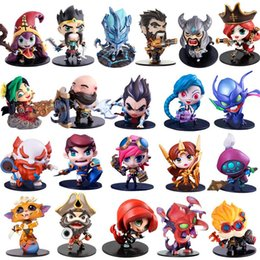 Wholesale League Legends Action Figures - Cute League of Legends Action Figure Toys Kawaii Collect Game Anime Model Garage Kit with box gifts