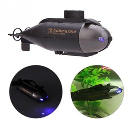 Wholesale Rc Boat Channel - 777-216 Mini 2-CH RC Racing Submarine Boat R C Toys with 40MHz Transmitter Black