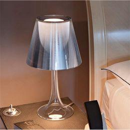 Wholesale Desk Table Light - Modern Table lamp Miss K Table lamp Philippe Starck design desk light Bedside Desktop fixture lighting Multi Color AC110V-240V