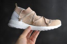Wholesale Red Chalk - 2017 Stella McCartney X Pure Boost X Women Shoes Mc Cartney Pure chalk   bliss Runner Boost Fashion Cheap Brand Shoes EU 36-40