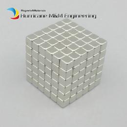 Wholesale Neo Magnets - 216 pcs 3x3x3 mm Magic Cubes Neodymium Toy Neocube Neo Magic Puzzles Toy Cube Magnets Magnetic Bucky Blocks
