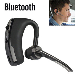 Wholesale Popular Wireless - Popular V8 Wireless Bluetooth Headset Small Earburds Stereo Bluetooth Headphones Car Driver bluetooth earphone For Samsung S8