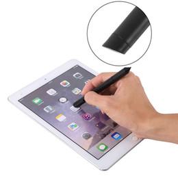 Dicas para canetas on-line-5 pçs / lote canetas capacitivetablets 2 em 1 fina ponta da tela de toque caneta stylus caneta capacitiva para ipad iphone touch pen