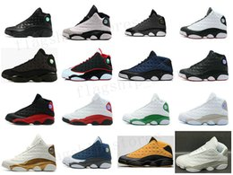 Wholesale Basketball Online Games - Jumpman 2016 Cheap New air retro 13 XIII man Basketball Shoes red Bred He Got Game Black Sneaker Sport Shoes Online Sale US 8-13