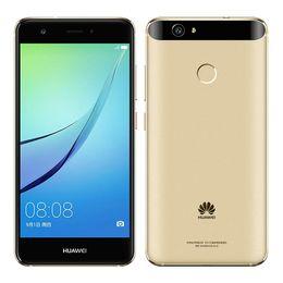 "Wholesale Dual Core Nova - Original Huawei Nova Cell Phone Snapdragon 625 MSM8953 Octa Core 4GB RAM 64GB ROM Android 6.0 5"" FHD 12MP Fingerprint ID Smart Mobile Phone"