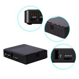 Wholesale U Cost - S30 China High Quality Low Cost Factory Lumens Projector Support Read The U Disk Mobile Hard Disk TF Card
