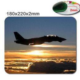 Wholesale Fast Plane - DIY The air plane 3D custom fast printing rubber gaming Mouse Pad size is 180 mm * 220 mm * 2 mm Computer and Laptop Mouse Pad