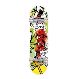 Wholesale Retro Cruiser Skateboard - Winmax 9 Piles Chinese Maple Skateboard board Boy Girl Retro Cruiser skate board Action Sports Skateboarding