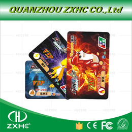 Wholesale Rfid Printed Cards - Wholesale- (500pcs lot) 125Khz RFID T5577 Programmable Print PVC Cards