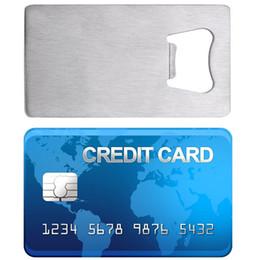 Открывалки 2019 Новое Прибытие Бумажник Размер Нержавеющей Стали Кредитной Карты Визитная Карточка Пива Открывалки cheap size business cards от Поставщики визитные карточки размера