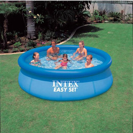 grandi piscine Sconti Big Outdoor Child Summer Swimming Piscina gonfiabile per adulti 305 * 76 Family Garden SwimmingPool Gioca Kids Pool Game Per Adulti Bambino