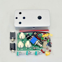 Wholesale Distortion Overdrive - DIY Distortion Effect Pedal Kit- DS-N01 1590B Style Aluminum Metal Stomp Box