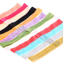 Wholesale Girls Lace Headbands - Wholesale- 10pcs FOE elastic headband baby headbands baby girls headbands hair accessories soft hair band ealstic headband hairband
