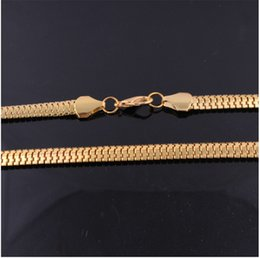 Wholesale Thick Ropes - wholesale lower price HipHop Gold Chain For Men Jewelry Gold Plated 64CM 9MM Thick Necklace xs1007