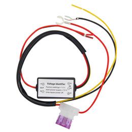 barras de telhado universais Desconto DRL Controlador Auto Car LED Daytime Running Luz Relé Harness Dimmer On / Off 12-18 V Luz de Nevoeiro Car Styling controlador