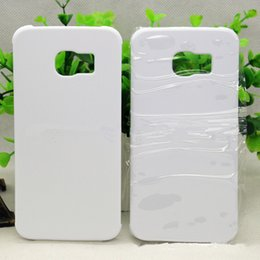 Wholesale Smoothing Plastic Phone Case - For Samsung S8 plus 3D DIY Blank Sublimation Cell Phone case Hard PC Matte and Smooth surface Cover Printed for iphone5S 6Sp iphone7 S7 edge