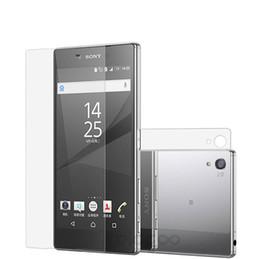 Sony xperia z5 schirmschutz online-Erstklassiger ausgeglichenes Glas-Schirm-Schutz für Sony Xperia Z5 Z5 Plus Z5 Mini gehärteter schützender Film mit Kleinpaket