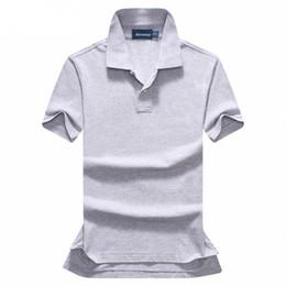 Hohe Qualität 2017 Sommermode solide Polo-Shirts Herren Kurzarm botton Polo-Shirt Baumwollhemd 12 Farben Größe S-XXL von Fabrikanten