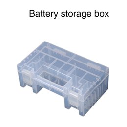 Wholesale C Battery Storage - Clear Plastic Battery Storage Box Healthy Case Storage Box Holder Container For AA AAA C Battery