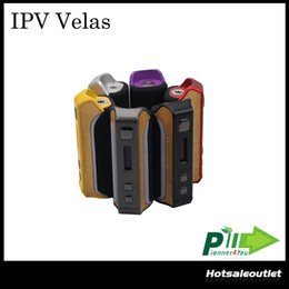 Wholesale led visual - Authentic Pioneer4you IPV Velas 120W TC Box Mod Seven Color LED Strip Powered by the YiHi SX410 Chip Visual Operating System