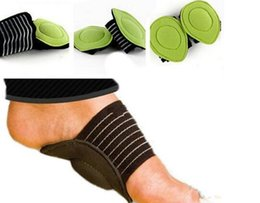 Wholesale Foam Arch - New Arrive Absorb Shocking Foot Arch Support Plantar Fasciitis Heel Pain Aid Feet Cushioned Useful