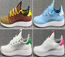 Wholesale Cheap Rainbow Shoes - Hot Sale Originals Pharrell Williams Tennis Hu Sports Shoes Cheap Rainbow Stan Smith Running Shoes Man Sneakers Size Eur 36-45
