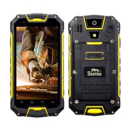 Wholesale Tri Micro Sim - SNOPOW M9-LTE Plus Unlocked 4G Rugged WalkieTalkie Smartphone - Android IP68 Waterproof Outdoor Tri-proof With DualSIM Powerbank PPT NFC LED
