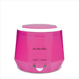 Wholesale Rice Pot - 1.3L Electric Heating Container Mini Rice Cooker for Home Car Truck Heating Multi-function Cooking Steaming Lunch Box