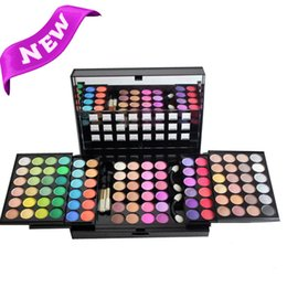Wholesale Eye Shadow Palette 96 - Wholesale-Olympics Fashion 96 Color Makeup Eyeshadow Palette Pigment Eye Shadow Palettes Make up Professional Cosmetic Kit Set For women