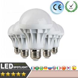 Wholesale Ampoule 9w - E27 110V 220V Light 5730SMD 3W 5W 7W 9W 10W 12W 15W ampoule lampadas Bombillas Spotlight LEDs Light High Bright Lampada LED Lamp