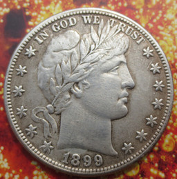 Wholesale Barber Dollars - 1899 Barber Half Dollars COIN COPY Wholesale Hot selling High Quality old style Copy coin Free shipping