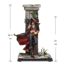 Wholesale Lol Cosplay - 2017 Twisted Fate the Card Master cosplay Action Figures Fron LOL Christmas Gift Anime Collection Model Toys