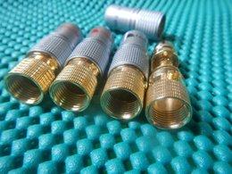 placa de cobre de solda Desconto 5pair banhado a ouro nakamichi cobre puro rca não conector de solda plugue novo