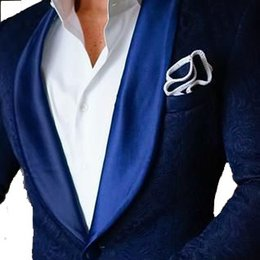 Wholesale Colorful Mens Suits - Wholesale- Airtailors Custom Made New Colorful Paisley Mens Jacket Groom's Wear Wedding Suits For Men Blazer Masculino Plus Size