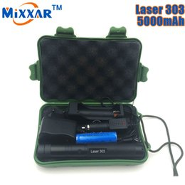 Wholesale Star Battery Charger - DHL Freeship Laser Green 303 Adjustable Laser Pointer Focal Length Star Pattern Filter with 18650 Battery Charger and Box