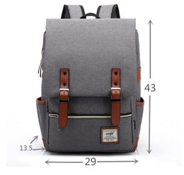 Wholesale Trade Backpack - Foreign trade new personality retro men's and women's outdoor canvas big travel backpack backpack fashion wholesale a undertakes