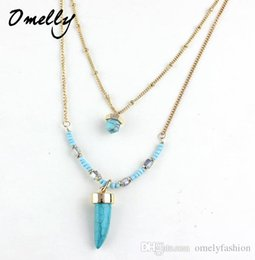 Wholesale Bulk Jewelry For Sale - Hot Sale Charm Beads Tassels Necklace Long Chain Sweater Necklace Jewelry for Women Lady Wholesale Jewelry in Bulk Cheap